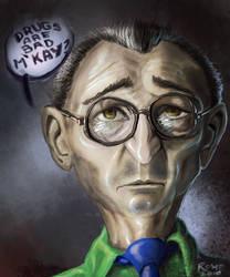 South Park - Mr. Mackey by ComicAJ