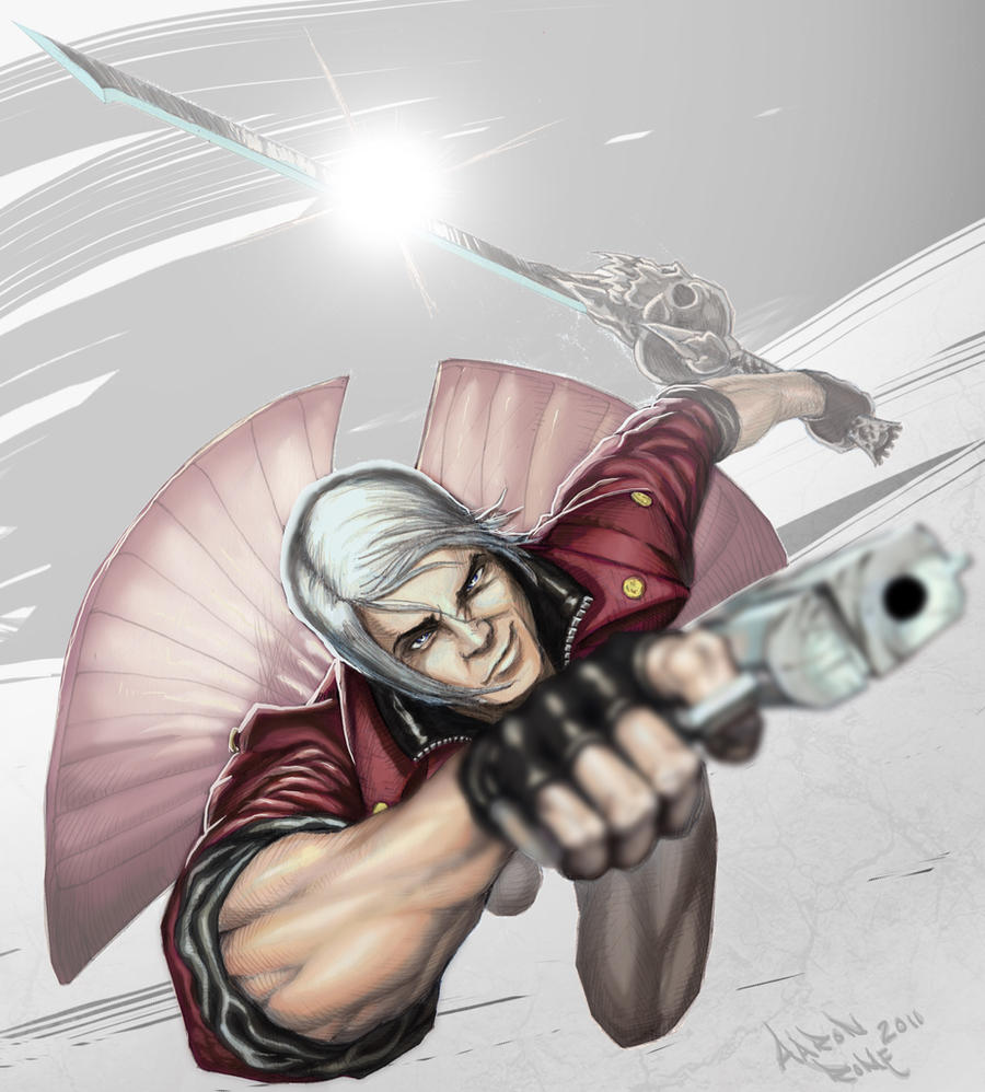DMC - Dante Color by ComicAJ