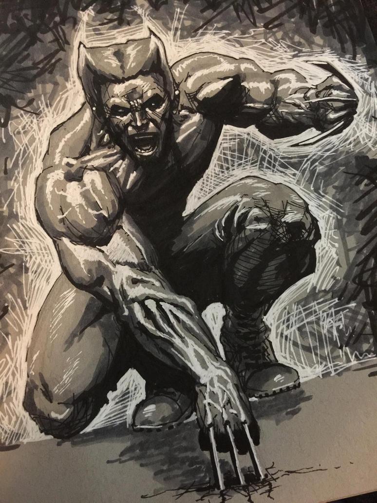 Wolverine by ComicAJ