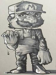 Bloody Mario by ComicAJ