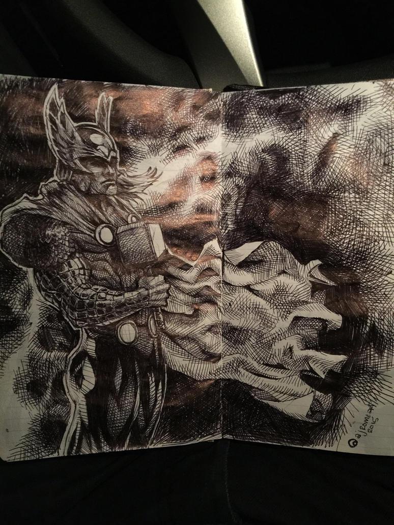 Thor by ComicAJ