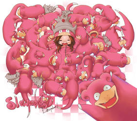 Dany Slowpoke Wallpaper by Kizaki-kzk