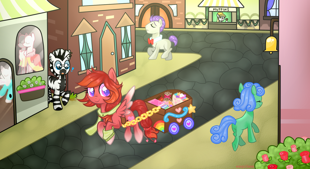 Haefen Meets Match Maker  By Engibee by HaefenZebra