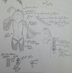 Turret Cosplay Concept Art