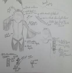 Turret Cosplay Concept Art