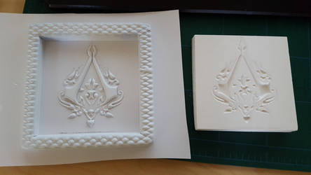 Ottoman Assassin's Creed Symbol Vacuum Formed