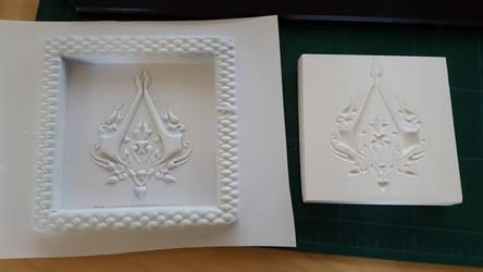 Ottoman Assassin's Creed Symbol Vacuum Formed