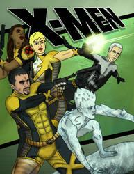 The X-Men by thegruffman