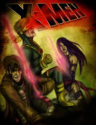 X-Men: 90's by thegruffman