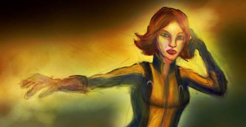 X-Men : First Class- Jean Grey by thegruffman