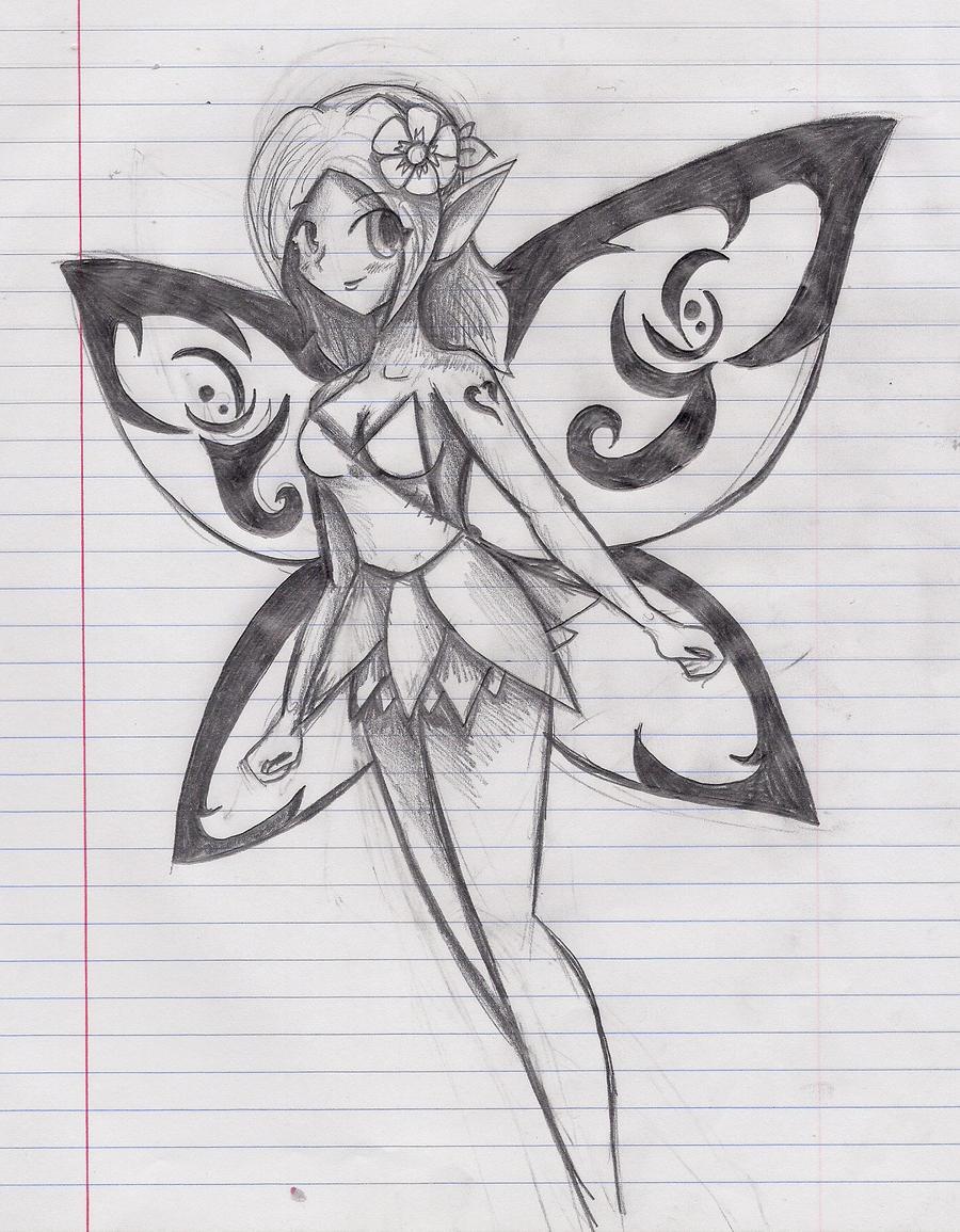 Pencil Fairy by NinjaZombie5692 on DeviantArt