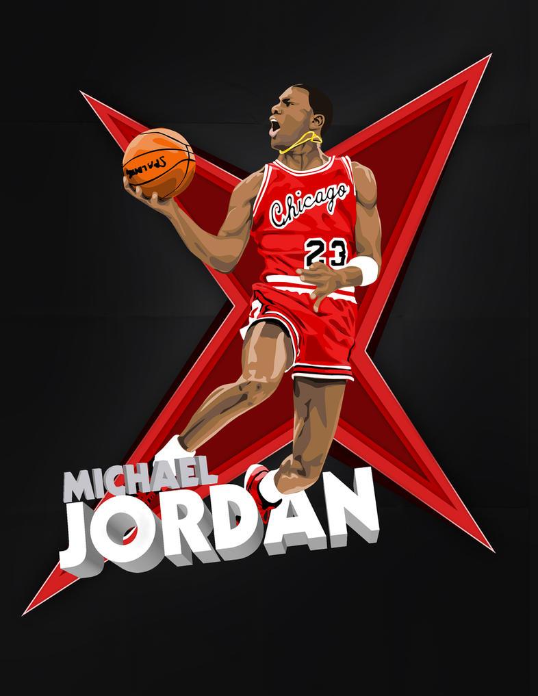 Michael Jordan Logo Cake