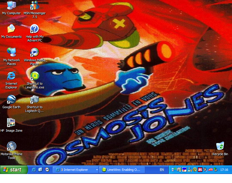 Osmosis Jones Wallpaper Osmosis Jones Wallpaper by