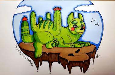 Cactus Cat (DTIYS Challenge)