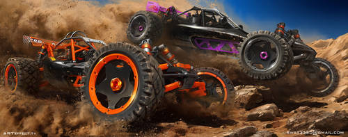 Buggy racing by Sviatoslav-SciFi