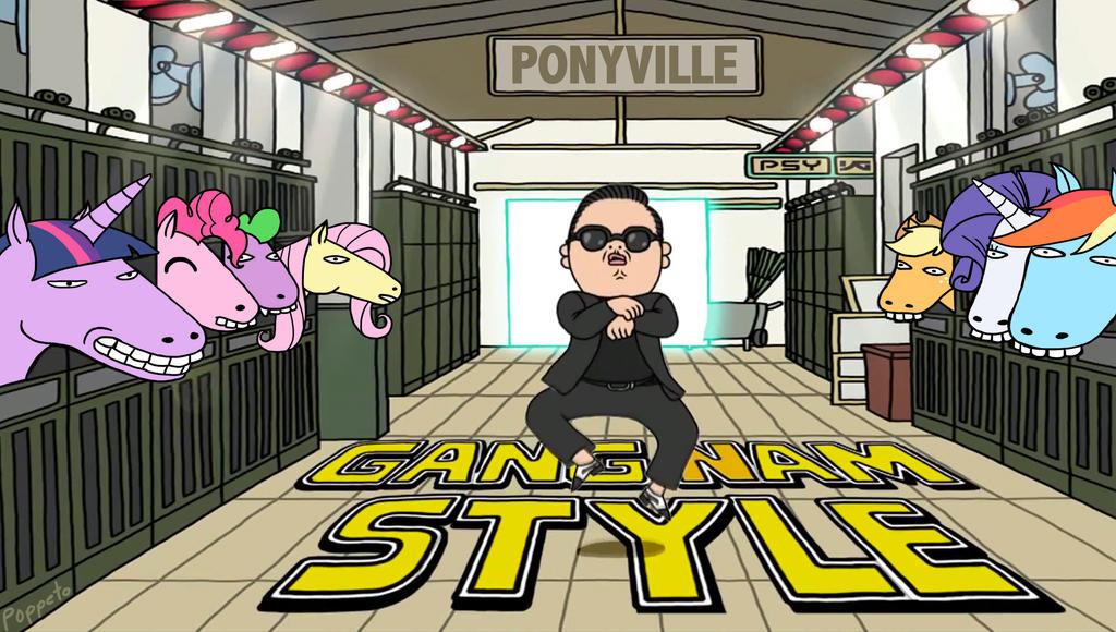 PONY GANGNAM STYLE by Poppeto