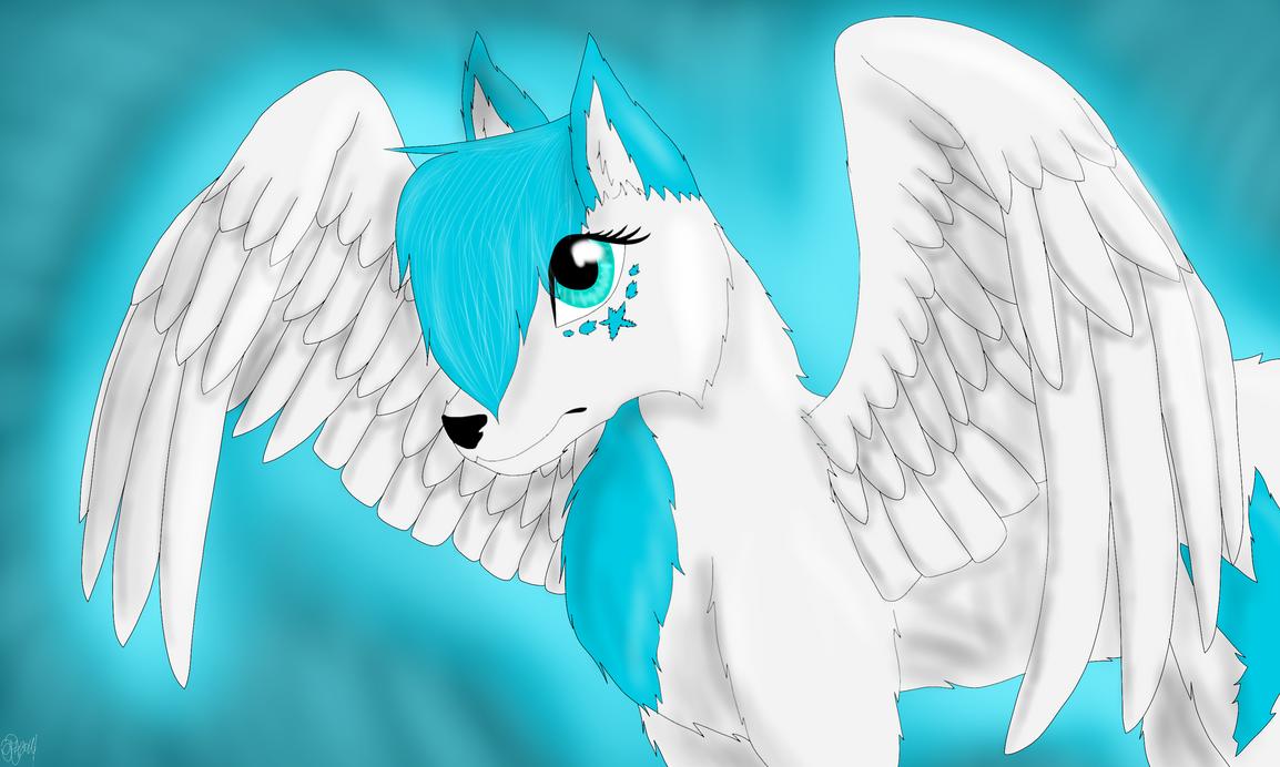 White Angel by Aryncoryn