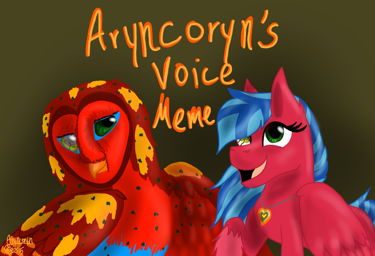 The Voice Meme by Aryncoryn