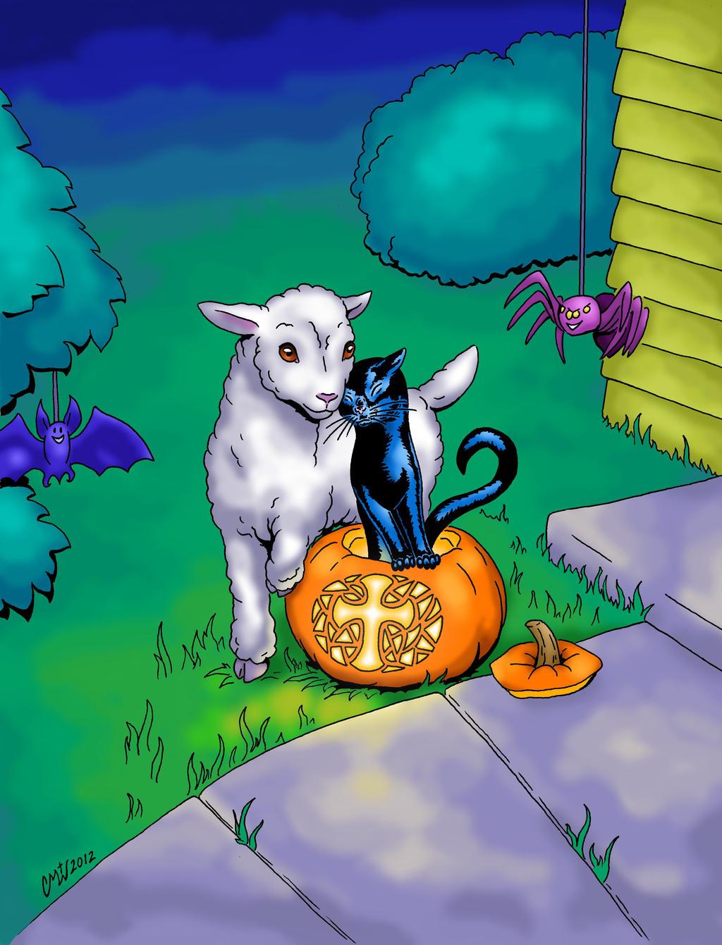 Christian Halloween (meme template) by Virtuous-Creature on DeviantArt