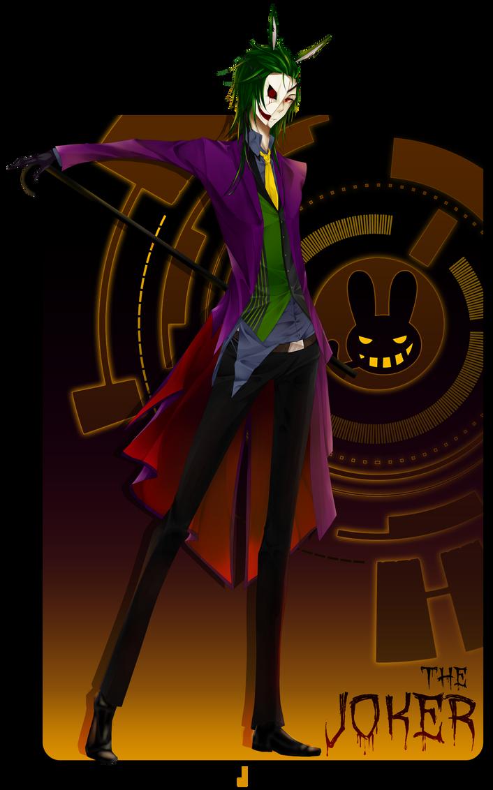BJBB Halloween: Joker by A-Shiyocchi
