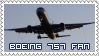 Boeing 757 Fan Stamp by Seluryar