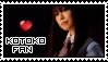 Kotoko Fan Stamp by Seluryar