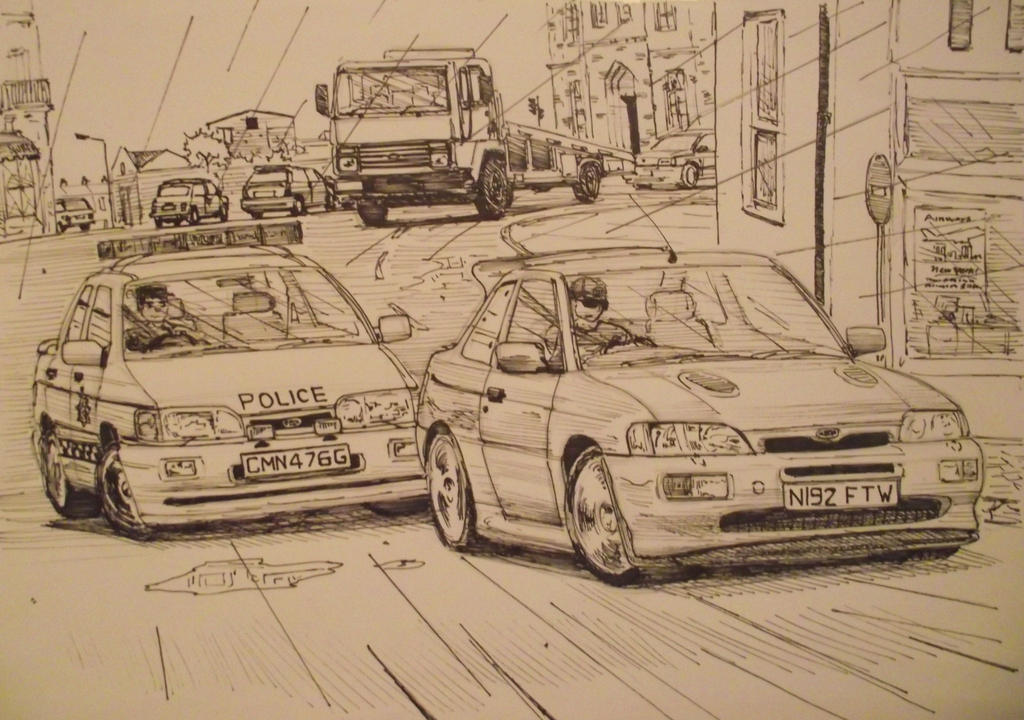 Brit pursuit by And300ZX