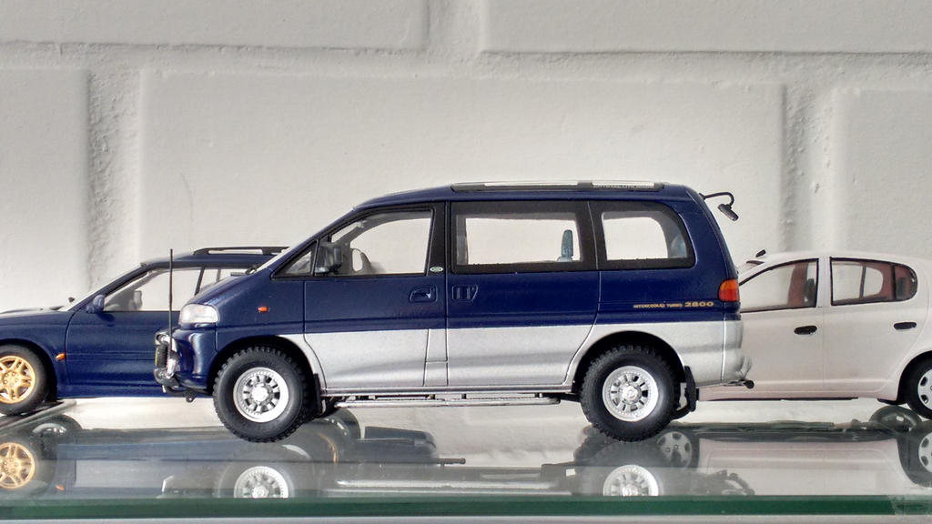 Mitsubishi Delica 1/24 by And300ZX