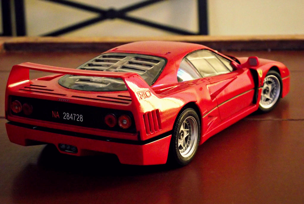Ferrari F40 1/24 by And300ZX