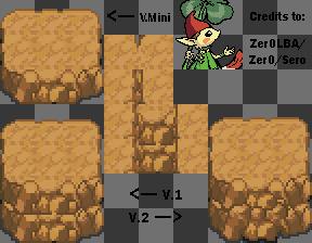 Pokemon Mountain Tile by Zer0LBA by Zer0LBA