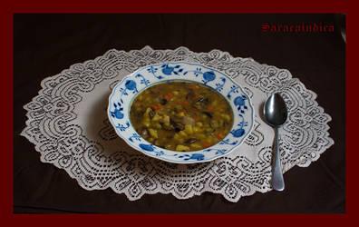 Potato-mushroom soup by saracaindica