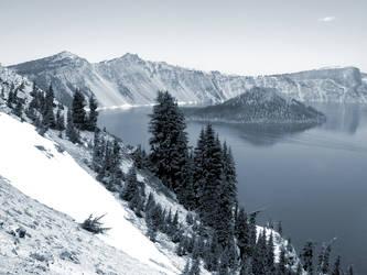 Crater Lake Oregon II by bettysock12