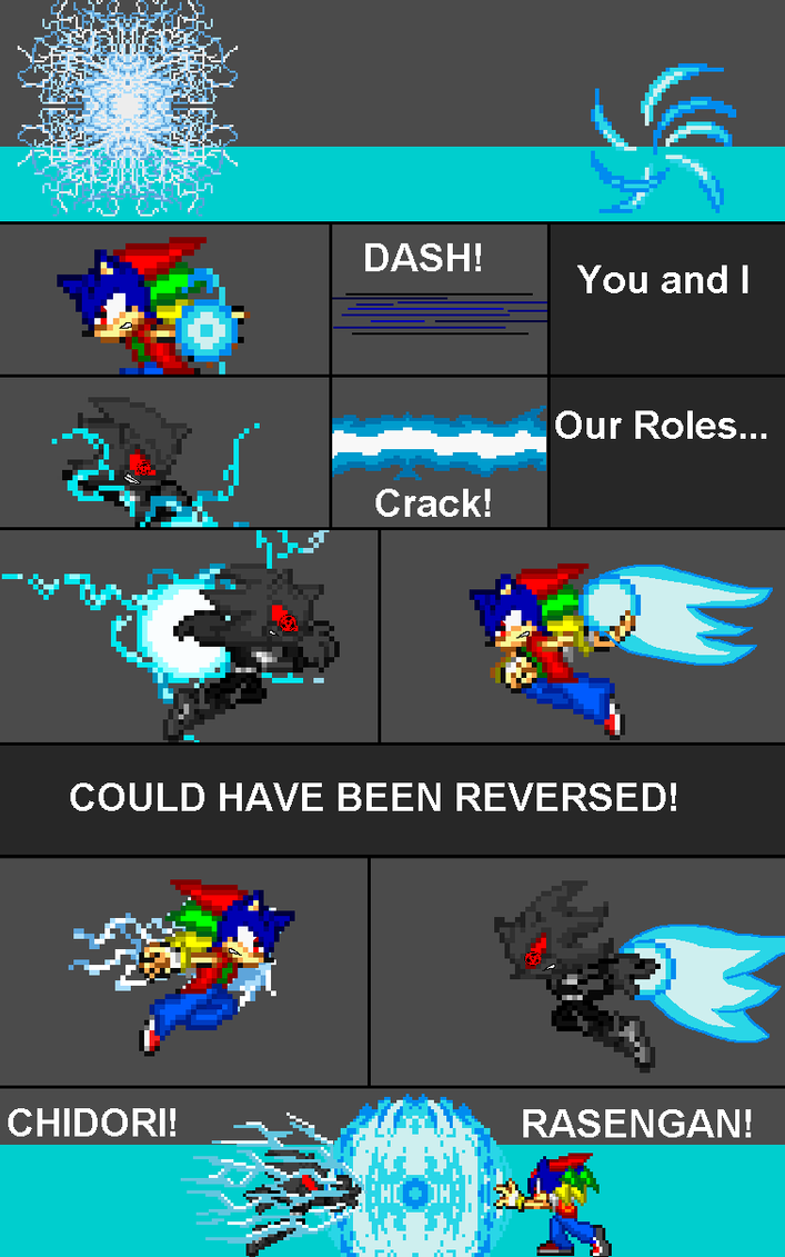 Our Roles Could Been Reversed sprite comic by J-theDemoniclighthog
