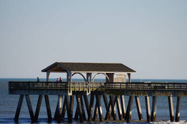 Tybee Pier by LaughingBudda
