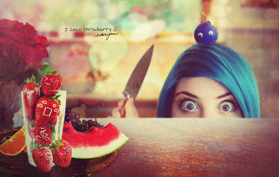 I love strawberry...