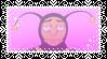 pink bumblebee man stamp by Lucky-De-Luca