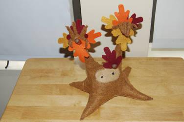 Autumn Oak Tree Spirit by Grey-Catsidhe
