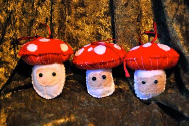 Mushroom Spirits by Grey-Catsidhe