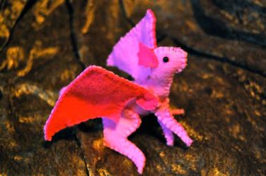 Pink Dragon by Grey-Catsidhe