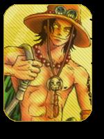 Ace avatar -One Piece- by narukashi