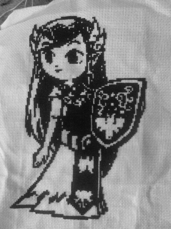 Zelda Cross Stitch by Akeelahh