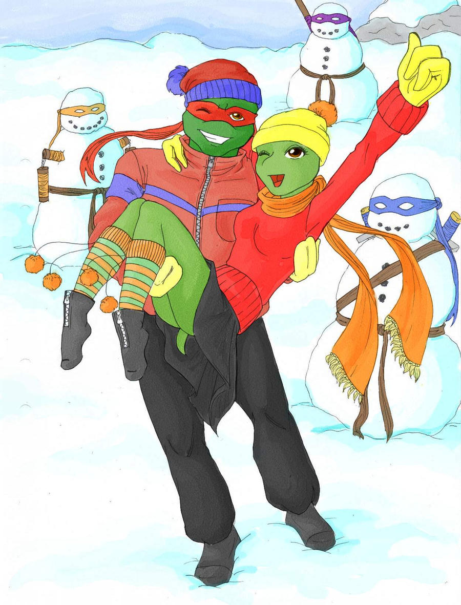 TMNT Secret Santa by HelloMyNameIsAlice