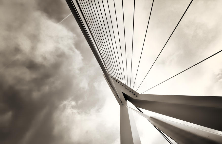 Rotterdam Bridge by Louisrose