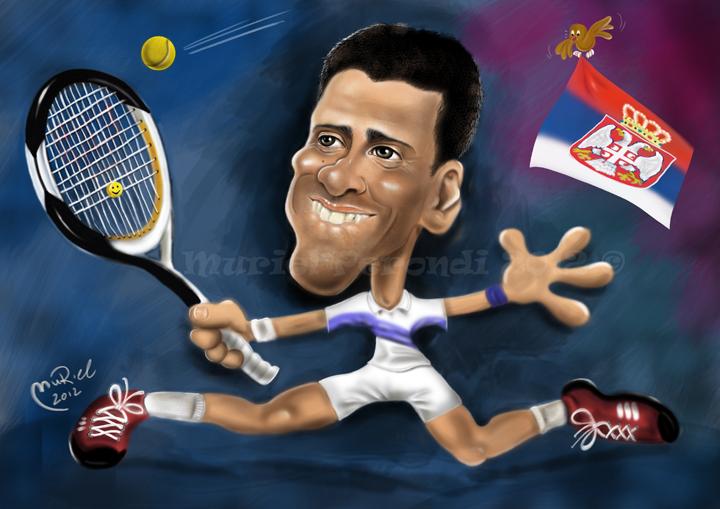 Novak Djokovic by MURIELFREEMIND