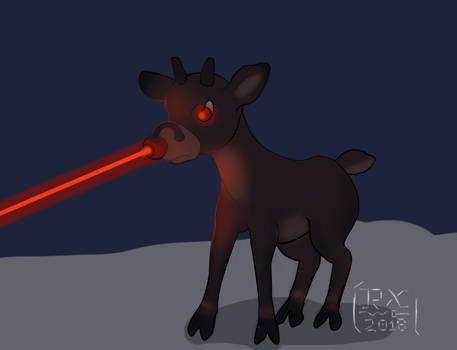Rudolph The Laser Reindeer