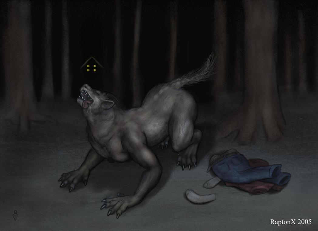 sexy nude male werewolf