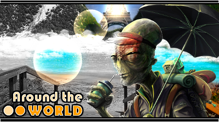 Alien - Around the WORLD by CroPro