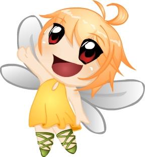 chibi anime girls fairy - photo #15