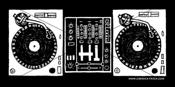 My first Sticker!  OHIO DJ by ChessiaTrick