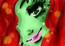 Poison Ivy doodle by Ichigo-Pudding